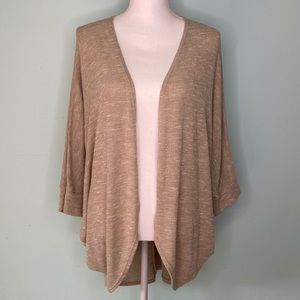 Nordstrom Painted Threads Tan Cardigan